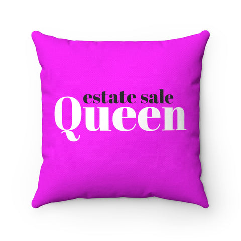Estate Sale Queen pillow