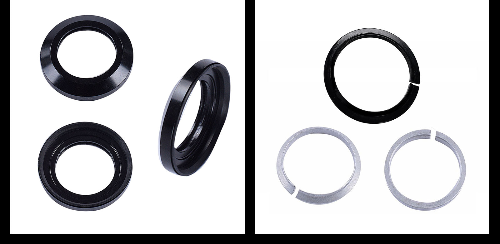 Bike Frame 1-1/8inch - 1-1/2inch Tapered Headset Details 03