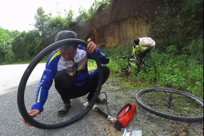 Bicycle tires are more likely to blow out in summer 1