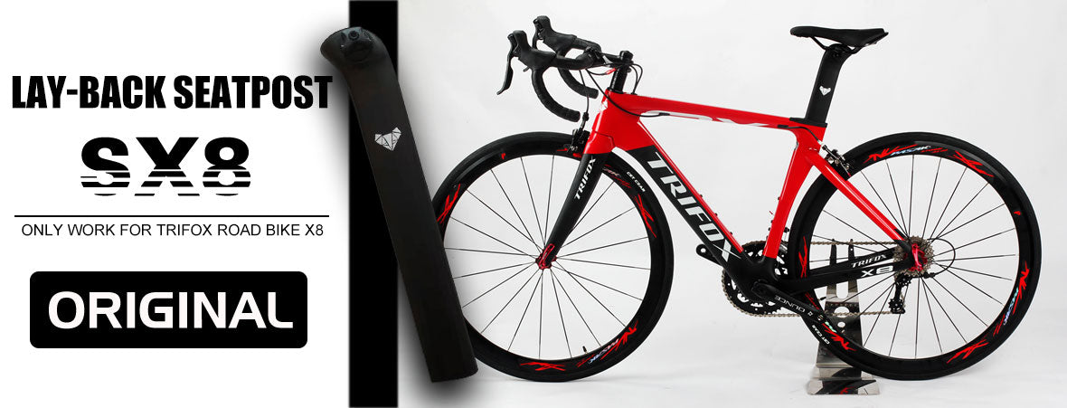 Trifox Layback Carbon Road Seatpost SX8 Banner
