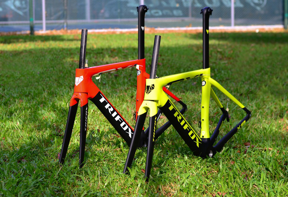 Carbon Fiber Road Bike Frameset X8