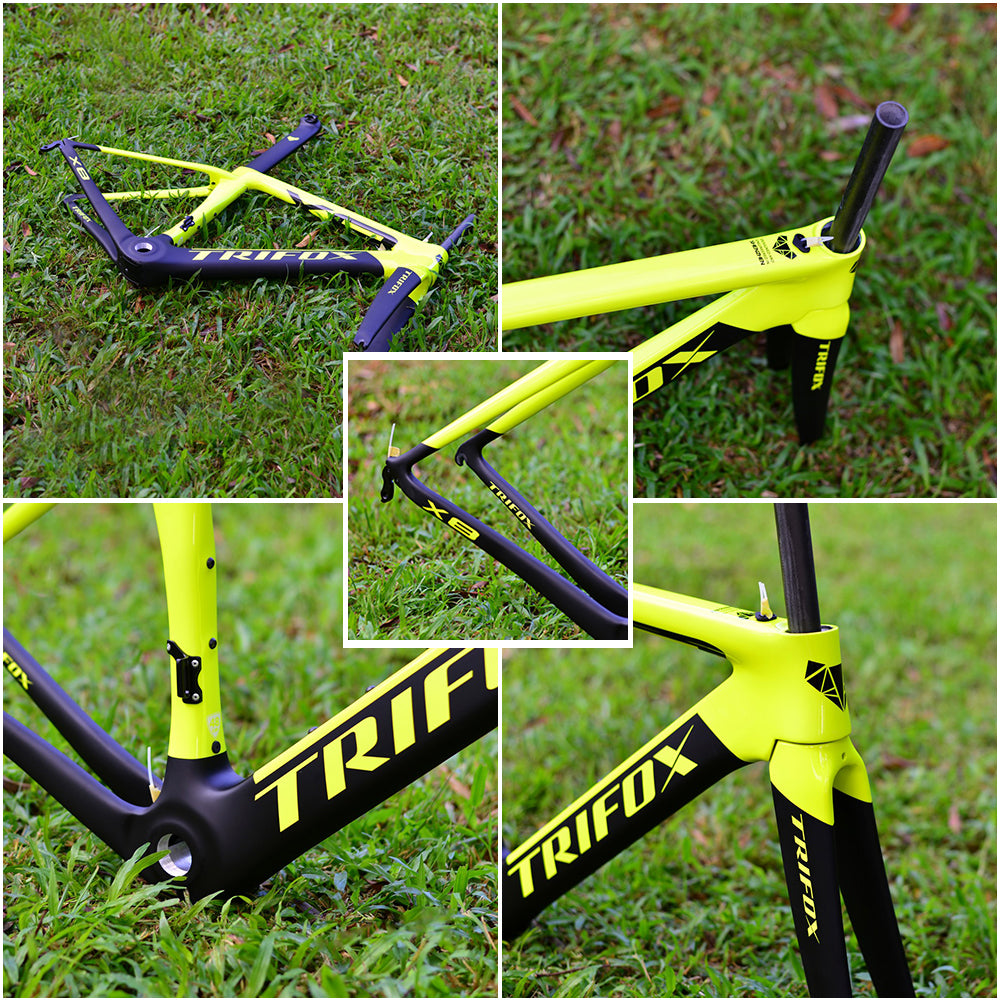 Carbon Road Bike Frame X8 Details 1