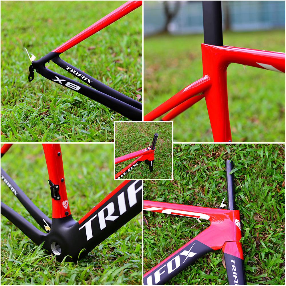 Carbon Road Bike Frame X8 Details 2