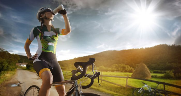 drink water after cycling