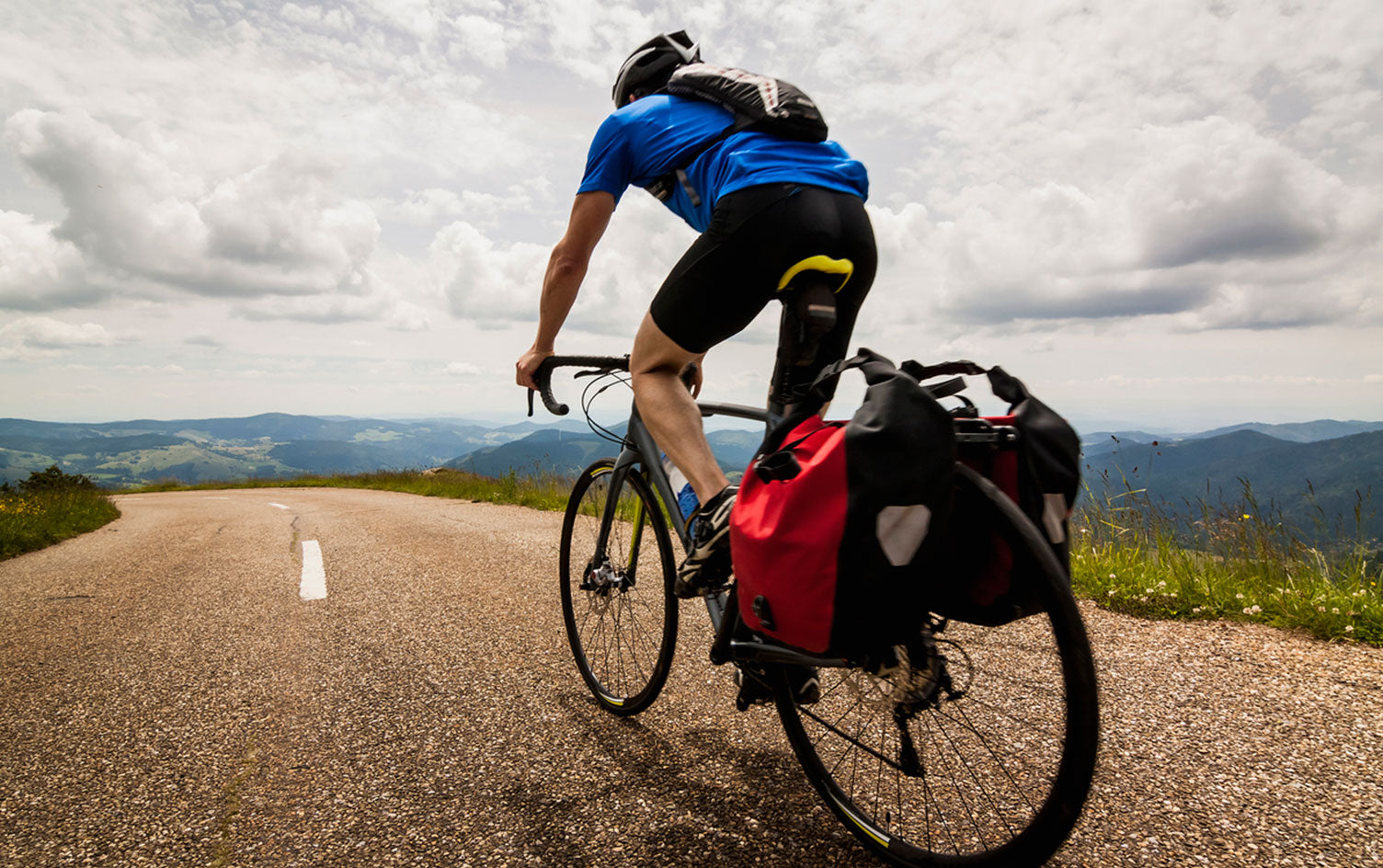 Long-distance cycling to find the easiest way to ride