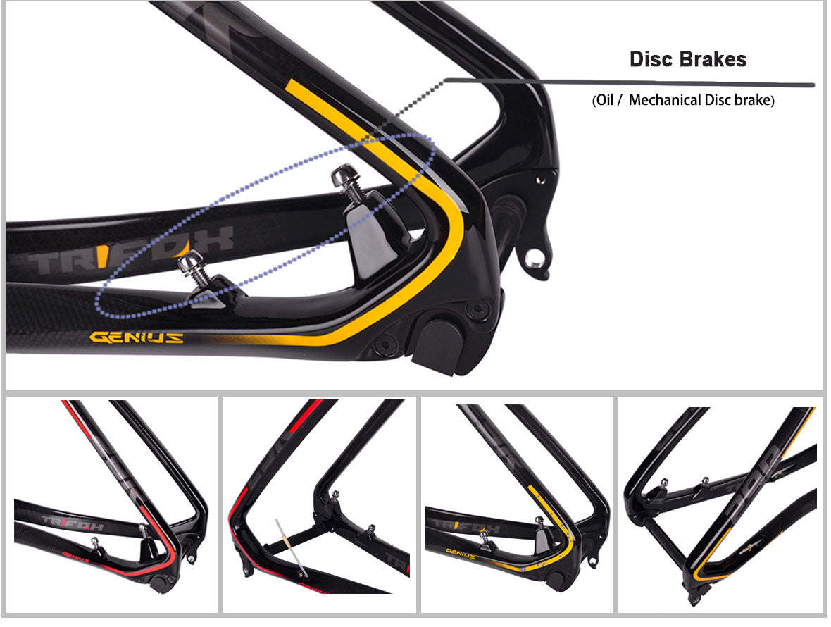 MFT200 Carbon Fiber Mountain Bike Frame Details 2