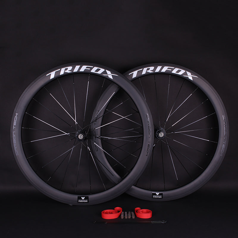 Carbon Fiber Road Bike Wheelset