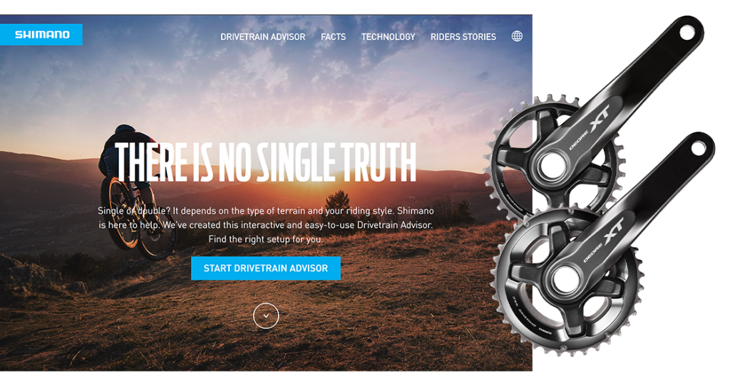 The advantages and disadvantages of mountain bike single chainset