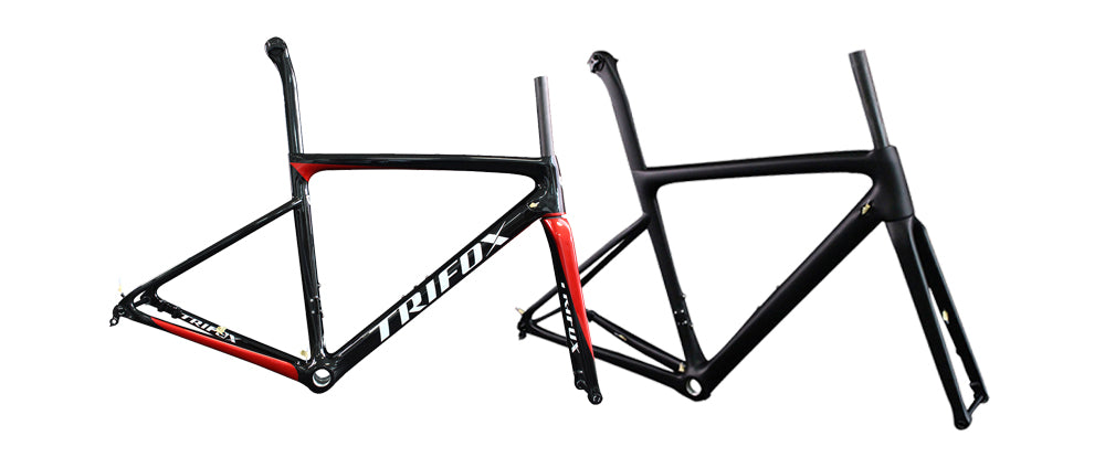 TRIFOX Carbon Road Bike Frameset X16 speedster Thru Axle Version