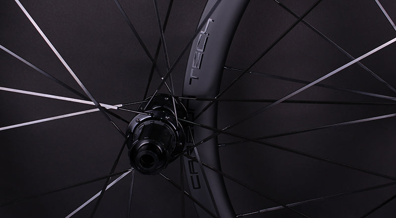 RW100 Thru Axle Road Bike Carbon Wheelset