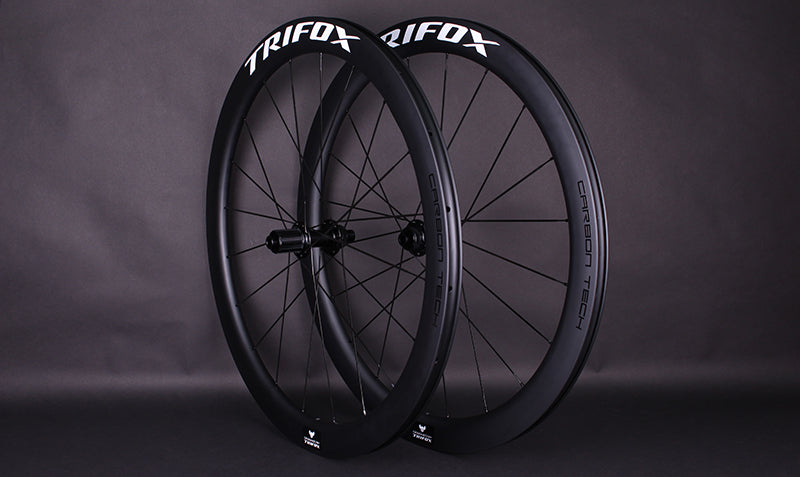 RW100 Road Bike Thru Axle Carbon Wheelset