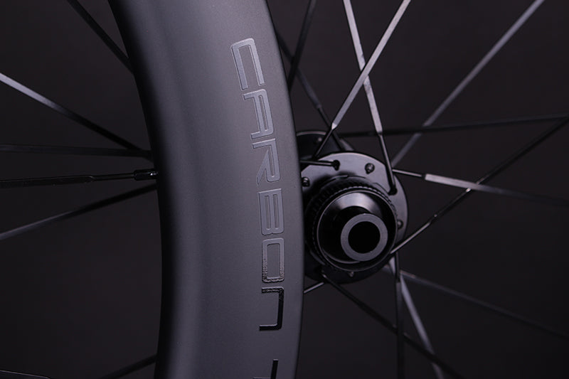 RW100 Thru Axle Carbon Road Bike Wheelset