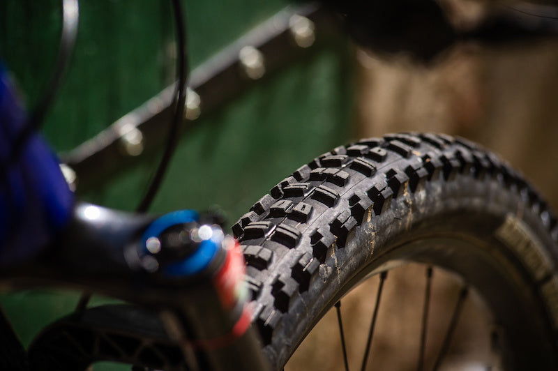 Tire width and teeth of mountain bike tires 4
