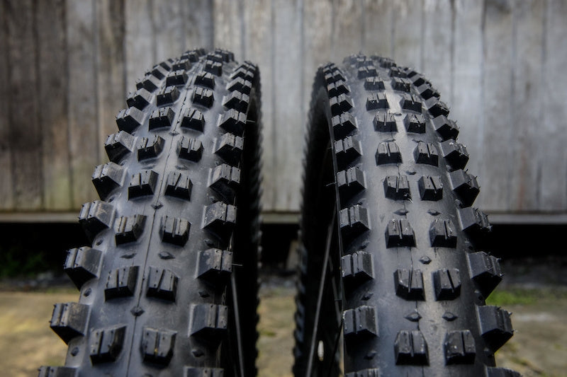 Tire width and teeth of mountain bike tires 9