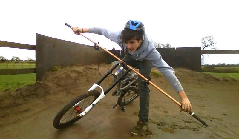 Too long handlebar will reduce the range of physical activity