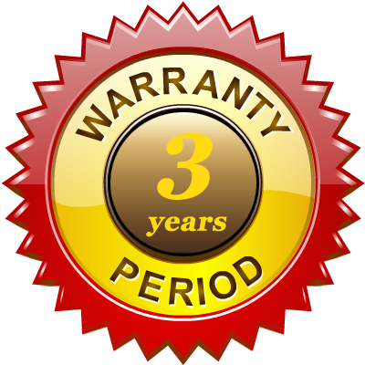 Trifox 3 Years Warranty Period