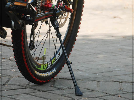Why don't mountain bikes install foot supports