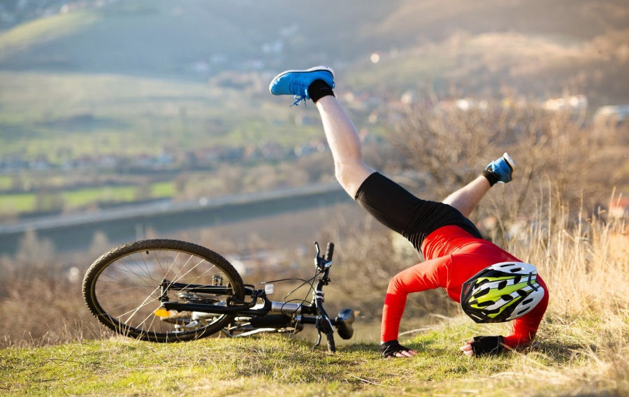 common injuries and illnesses of outdoor cycling