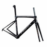 X16 Carbon Road Bike Frameset Quick Release