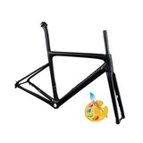 X16 Carbon Road Bike Frameset Thru Axle