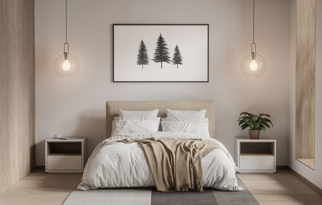 scandanavian-tree-bedroom