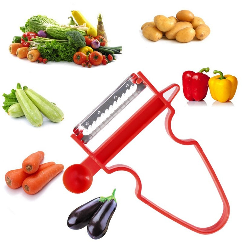 Magic Peel ™ Multi-Functional Trio Peeler (SET OF 3)