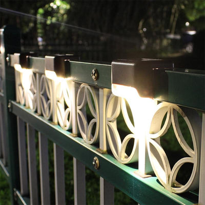 NATUREKNACK™ Waterproof Outdoor Solar Deck Lights