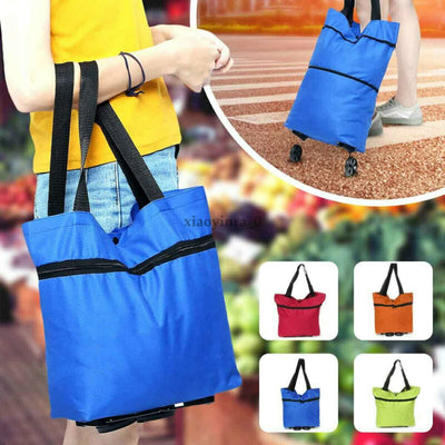 Foldable Trolley Tote Bag