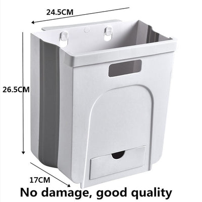 NATUREKNACK™ FOLDING WASTE BINS KITCHEN GARBAGE