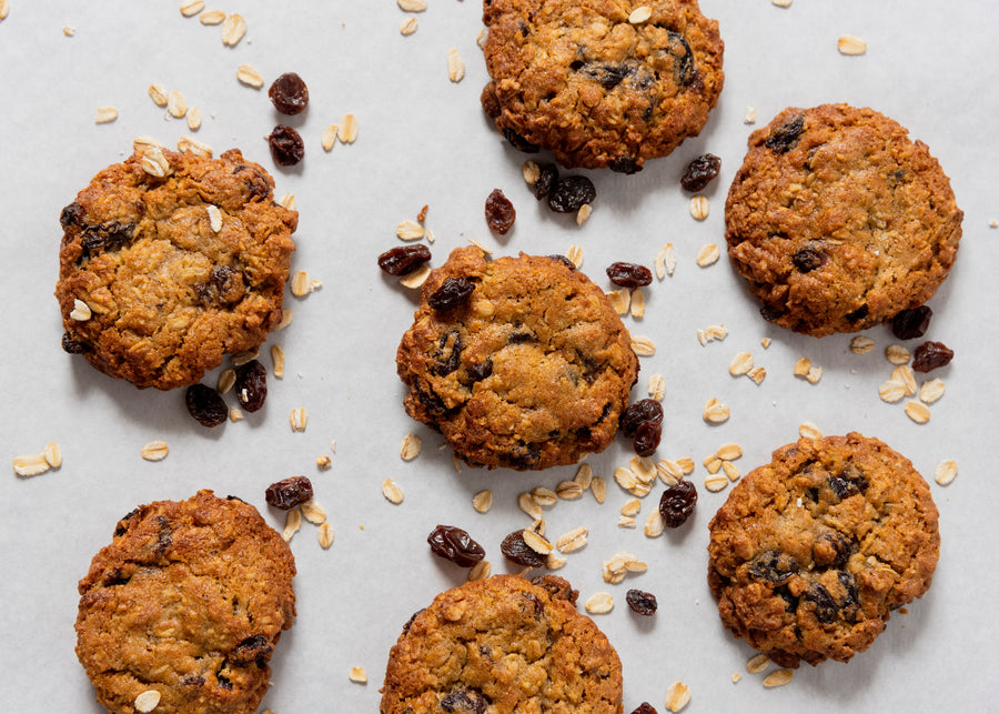 Oatmeal Raisin Cookies Image 8