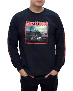 Boyz n the Hood Graphic Long Sleeve Shirt - Hype Means Nothing