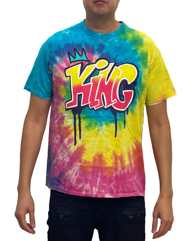 King Graphic T-Shirt - Hype Means Nothing