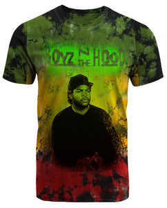 Boyz n the Hood Rasta Inspired Tie Dye T-Shirt - Hype Means Nothing