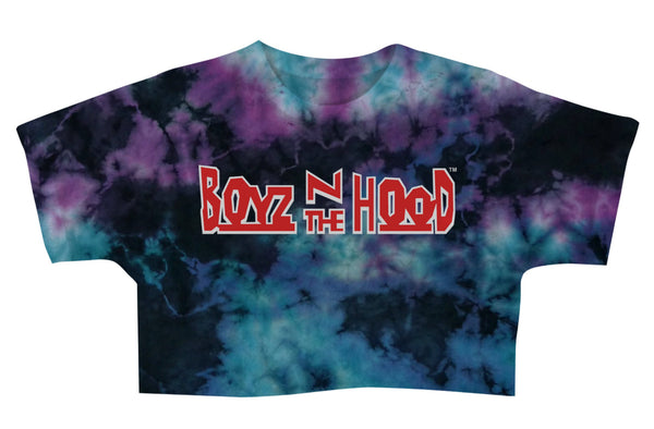 Boyz n the Hood Tie Dye Graphic Crop T-Shirt - Hype Means Nothing