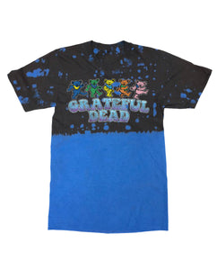 Grateful Dead Partial Tie Dye Graphic Tee - Hype Means Nothing
