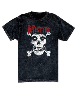 Misfits Mineral Washed Tee - Hype Means Nothing