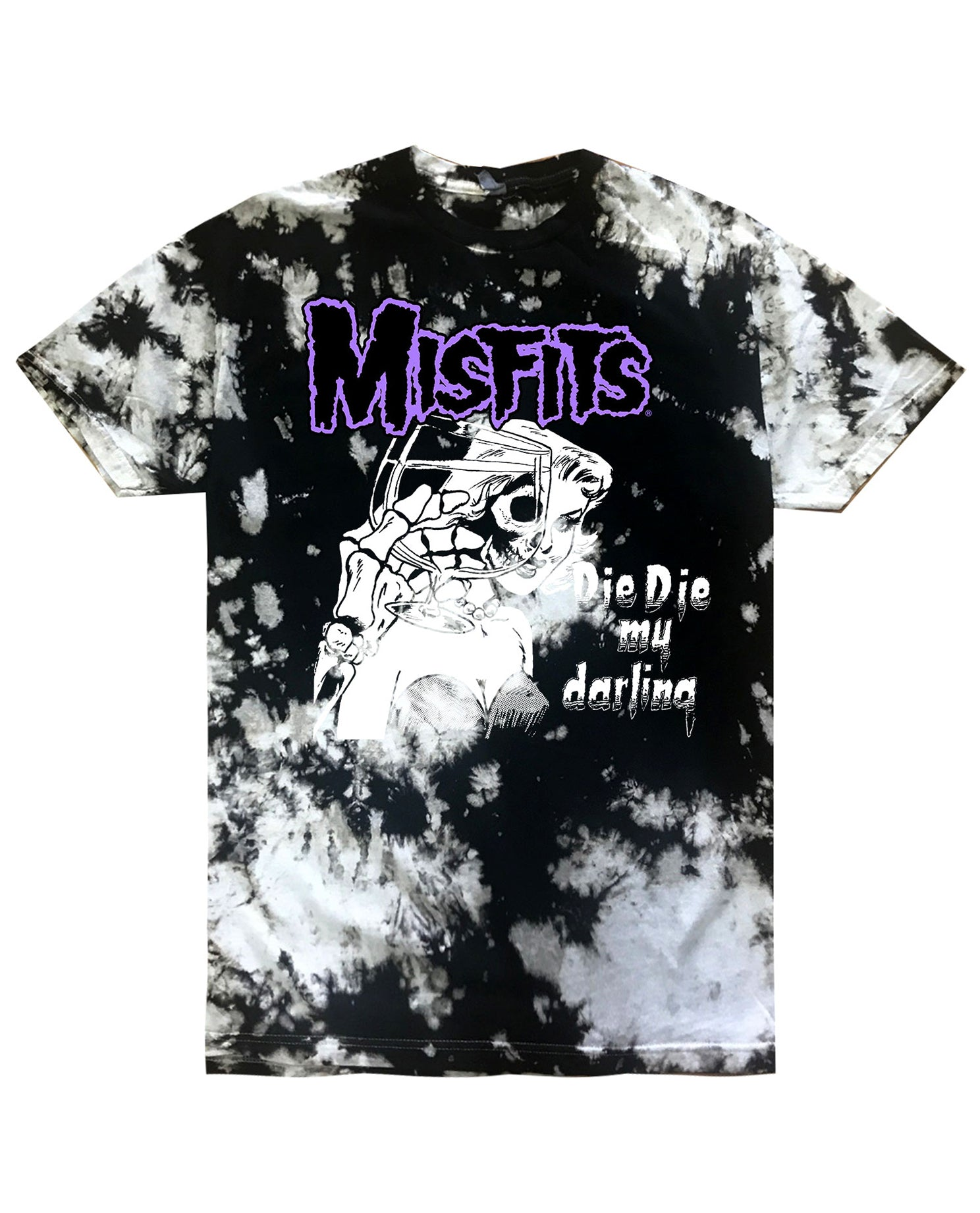 Misfits Tie Dye Graphic Tee - Hype Means Nothing