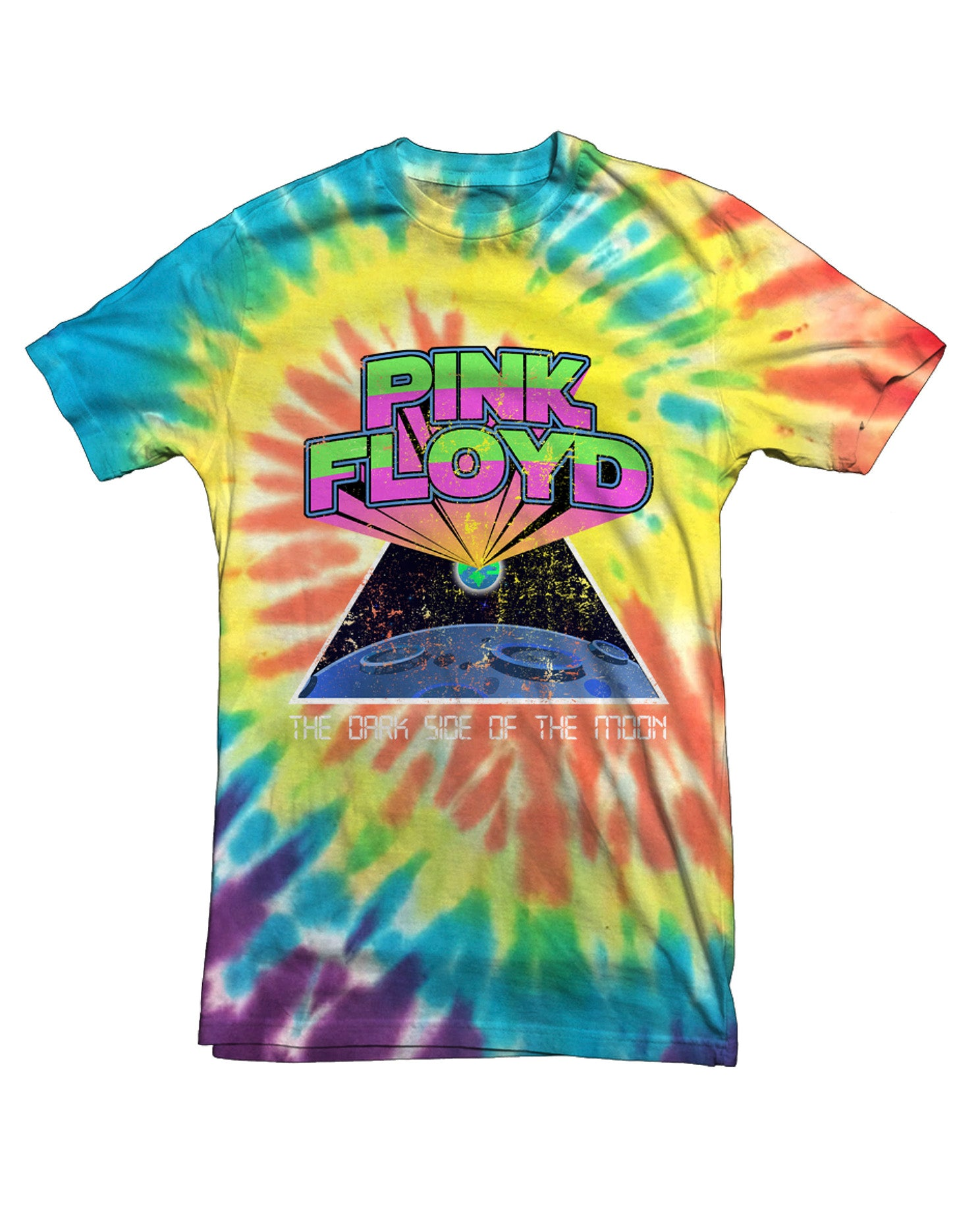 Pink Floyd Tie Dye Tee - Hype Means Nothing