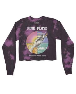 Pink Floyd Crop Top - Hype Means Nothing