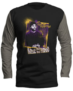 Boyz n the Hood Graphic with Gray Long Sleeve Shirt - Hype Means Nothing