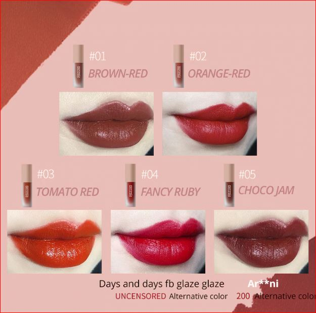 ORIGINAL MATTE GLAZED LIPSTICK SET (BUY 1 TAKE 1)