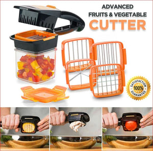 5 In 1 Vegetable & Fruit Chopper Household