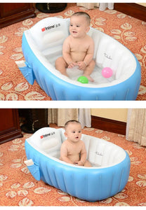 Inflatable Baby Bath Tub Mom & Baby