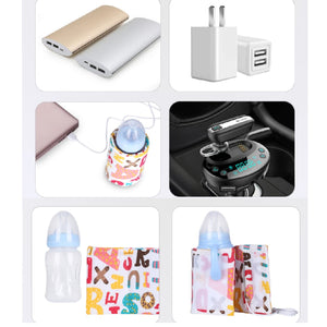 Portable Baby Bottle Warmer Mom & Baby