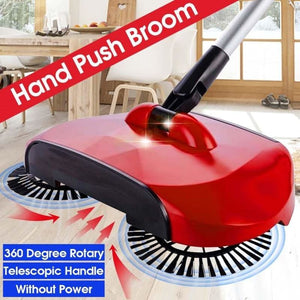 Tb4U Magic Spinning Broom Household