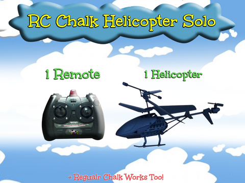 RC Chalk Helicopter