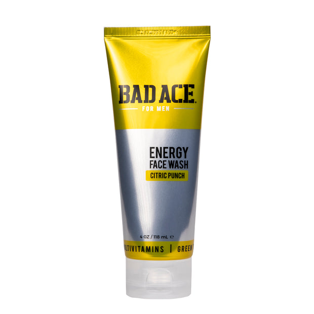 ENERGY FACE WASH - CITRIC PUNCH 4oz [ BAD ACE ]