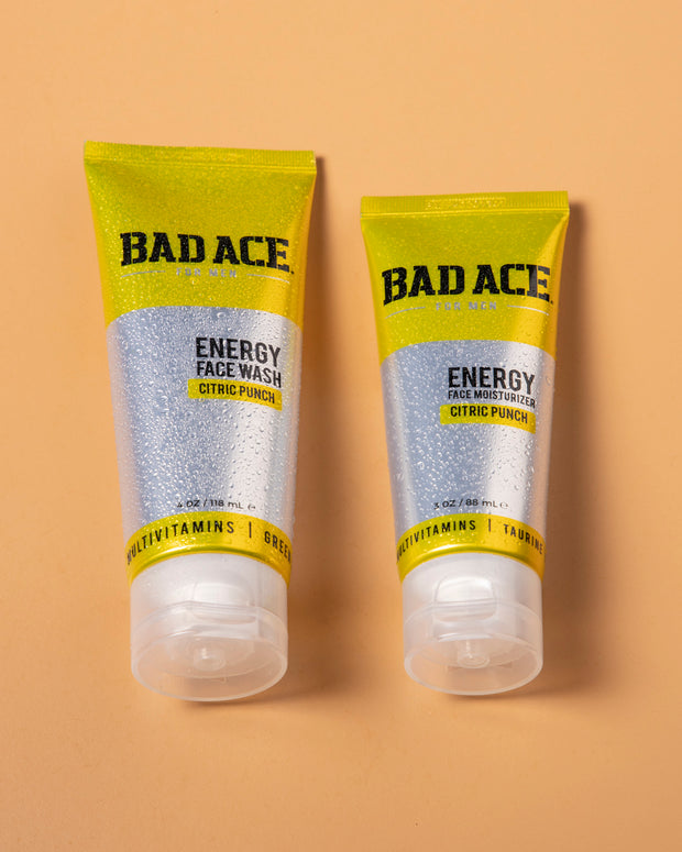 ENERGY SKIN CARE SET [ BAD ACE ]