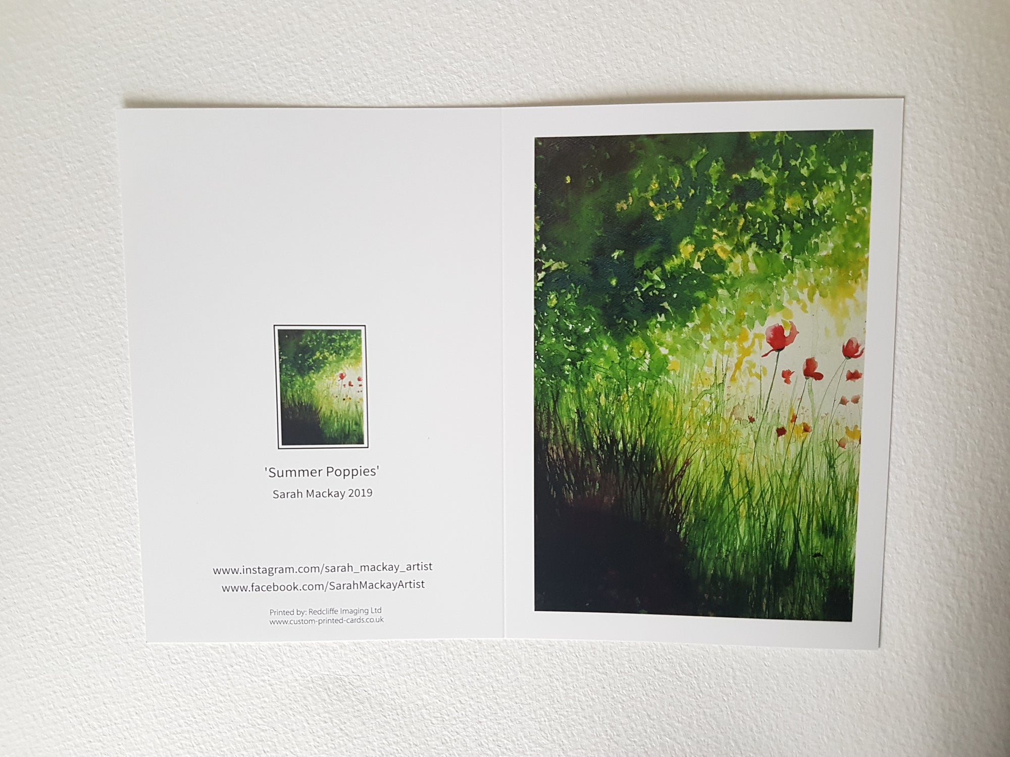 Summer Poppies - Greetings Cards