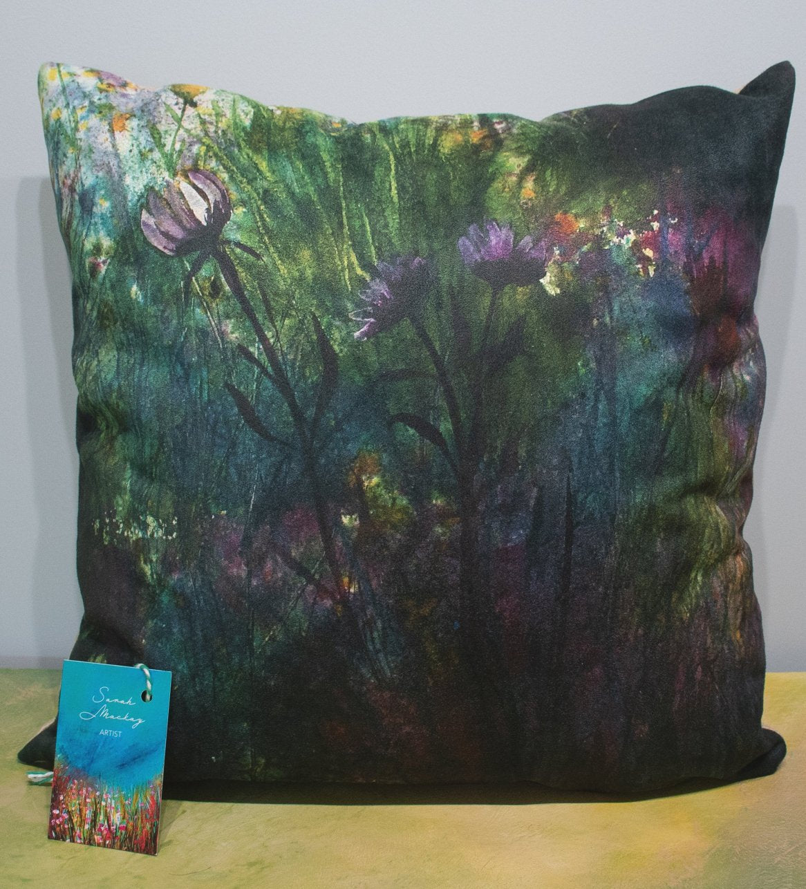 'Deep Rainbow Shadows' Cushion